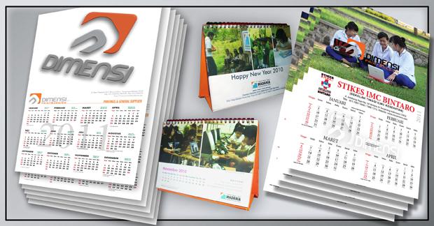 Percetakan Kalender Terdekat di Serpong