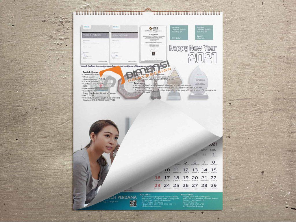 Jasa Cetak Kalender Dinding
