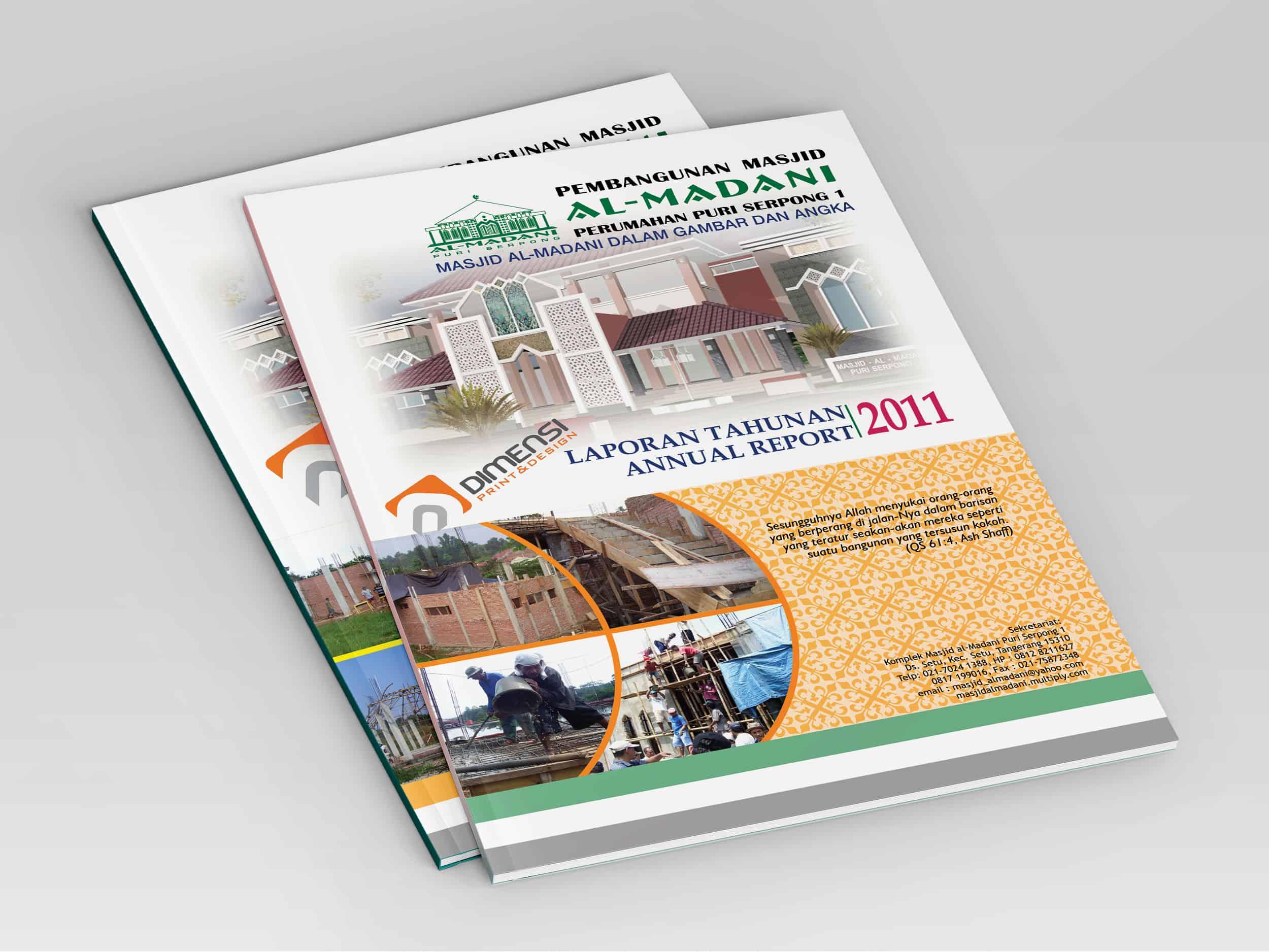 Jasa Cetak Annual Report