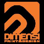 Logo Percetakan Dimensi