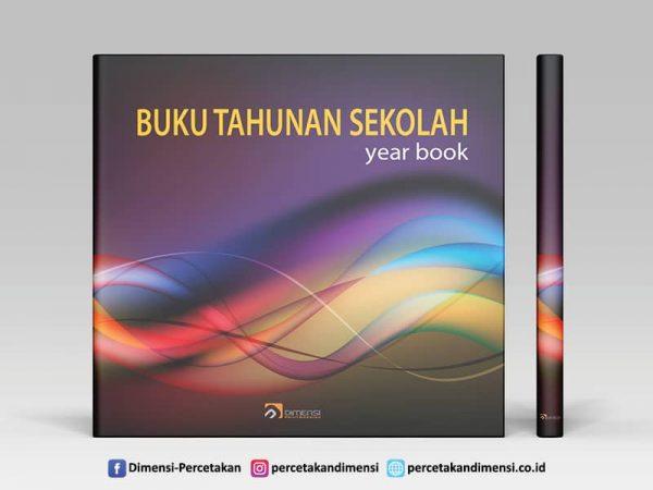Merancang Sampul atau Cover Buku Tahunan Sekolah yang Interaktif