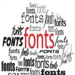 Jenis Font atau Huruf Sans Serif