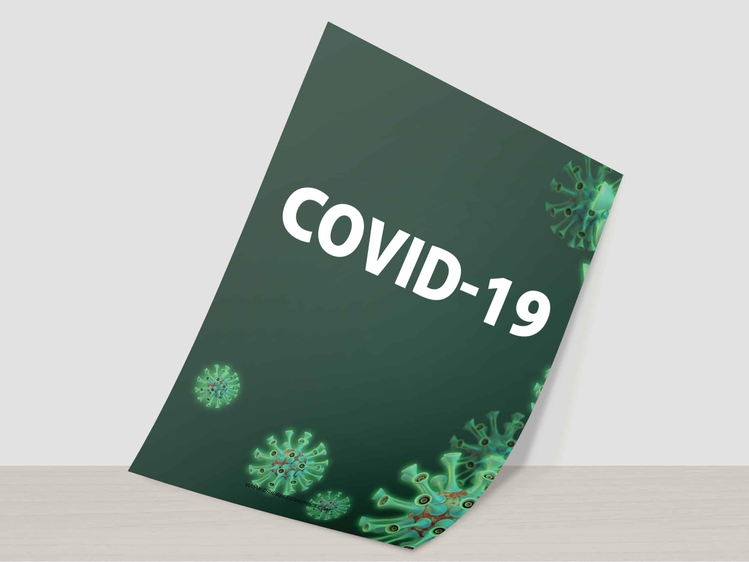 Jasa Cetak Poster Informasi Kesehatan Pandemi Corona Covid-19