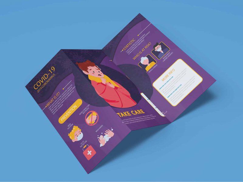 Jasa desain dan cetak flyer atau selebaran online harga murah dan terdekat di BSD City Tangerang Selatan