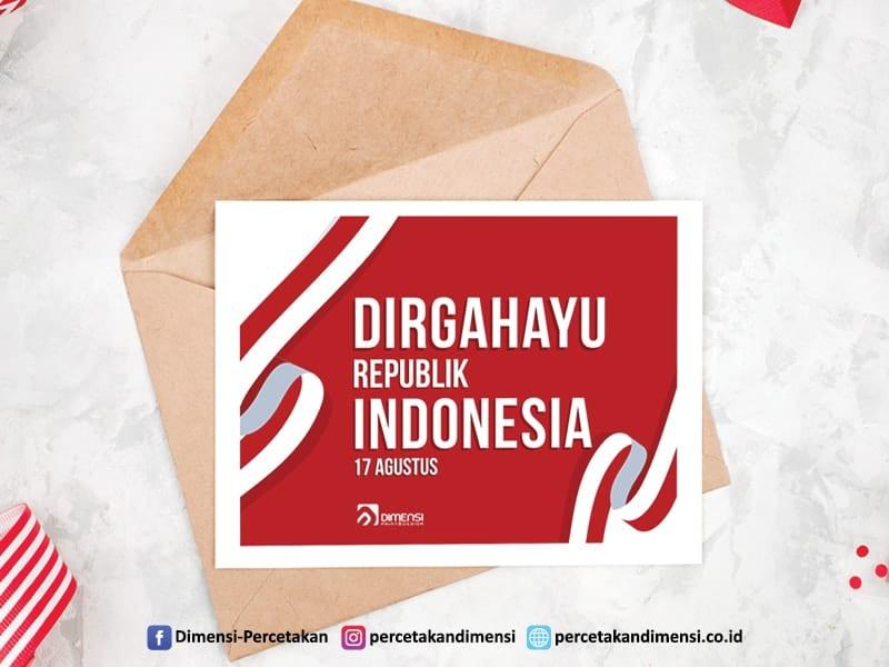 Jasa desain dan cetak kartu ucapan online harga murah dan terdekat di BSD City Tangerang Selatan