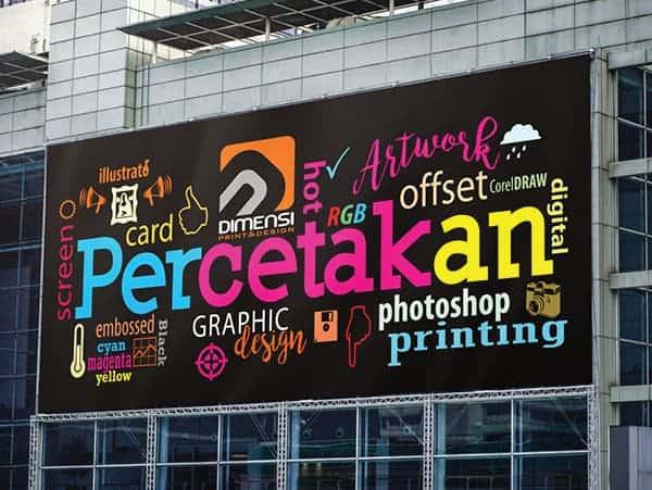 Jasa desain dan cetak spanduk online harga murah dan terdekat di BSD City Tangerang Selatan
