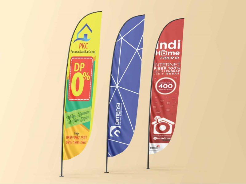 Jasa desain dan cetak Umbul-umbul online harga murah dan terdekat di Serpong Tangerang Selatan