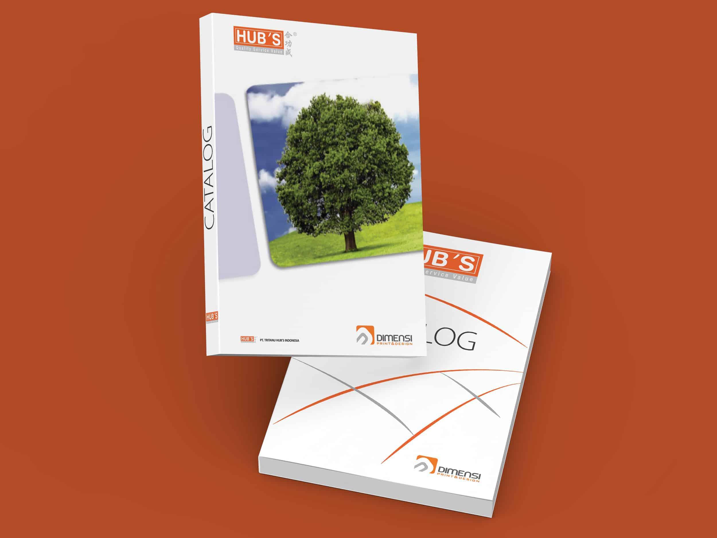 Layanan jasa desain dan cetak katalog full color online murah dan terdekat di Serpong Tangerang Selatan